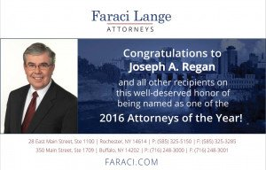 Faraci Lange Attorney Joseph Regan Honored with Leader in Law Award