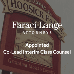 Faraci Lange Attorneys appointed Co-Lead Interim Class Counsel